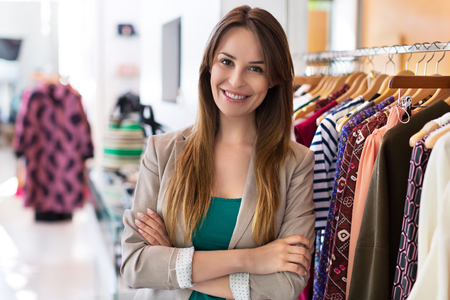 Clothing boutique Standard-Bild