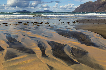 Playa Famara, Lanzarote, Canary Islands