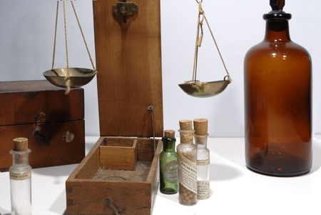 veneno frasco: antiguos art�culos de droguer�a