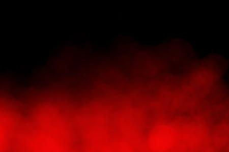 Smoke bokeh collection on black background Фото со стока