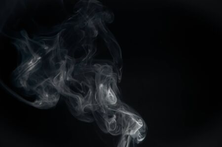 Smoke collection of solid and liquid particulates and gases emitted when a material undergoes combustion Фото со стока