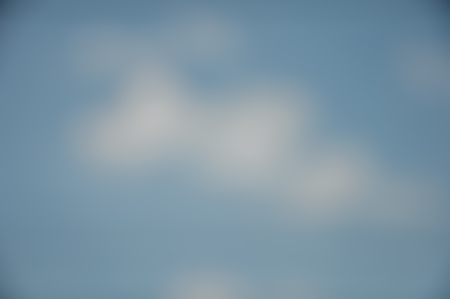 Blurred landscape background peaceful natural blue sky clouds Фото со стока