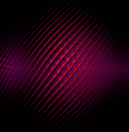 wallpape: Red abstract vector fractal cosmic spiral and lines