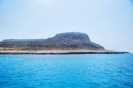 Mediterranean sea landscape. Cavo Greco, Ayia napa, Cyprus.
