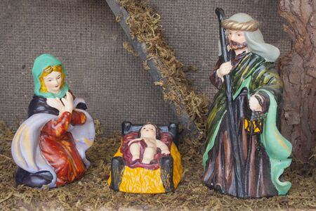 The Family, in the the birth of Jesus in Bethelehem.