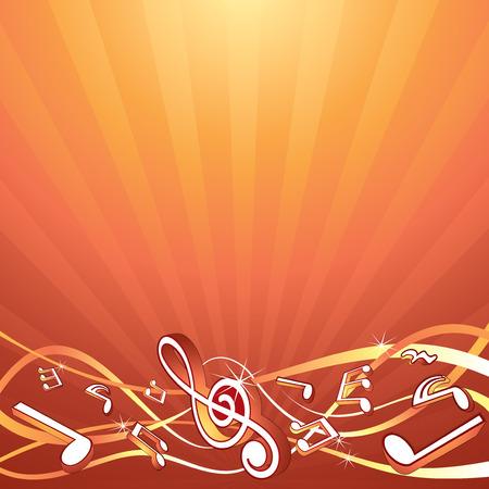 chiave di violino: Modello di sfondo musicale