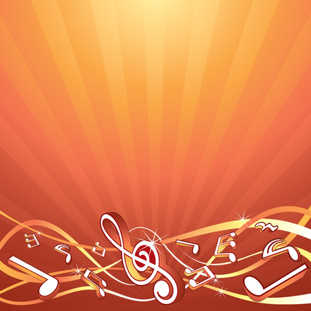 composition: Music backdrop template