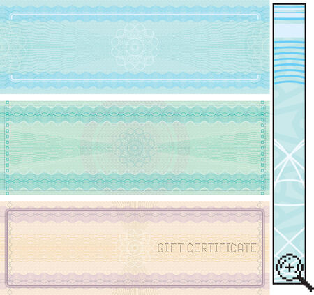 Certificate template -vector without gradients ,easy editable colors Vector