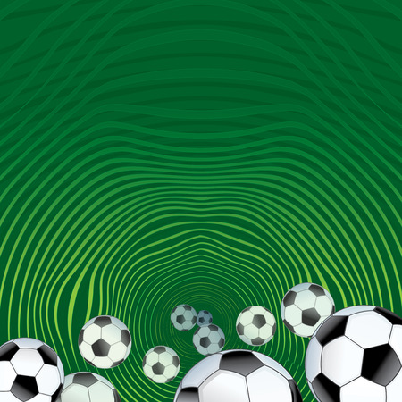 Abstract Soccer background for design Vector