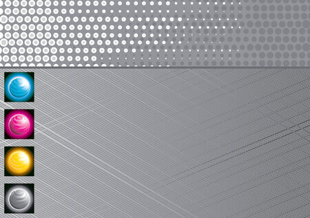 gray technology background Stock Vector - 7628916