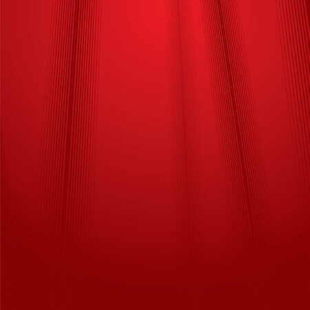 abstract red satin Stock Vector - 7628861