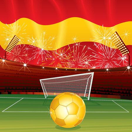 Spanish celebrating background   Vector