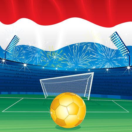 holanda bandera: Fondo celebrando de Holanda  Vectores