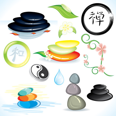 hieroglyph: Zen theme-design elements