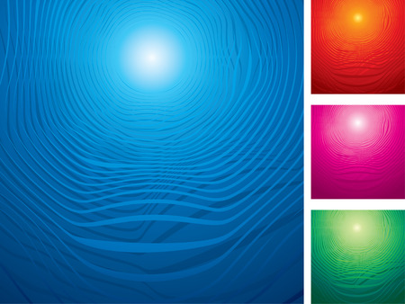 Abstract vector backgrounds set  Vector