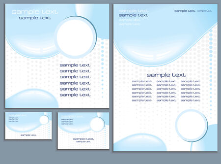 Clear Water design .Vector Template  Vector