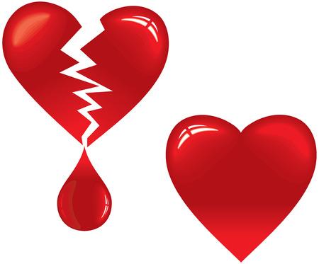 Blood design elements-vector set Vector