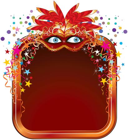 mascaras de carnaval: Cuadro de la charla de Carnaval