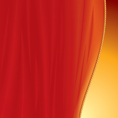 Curtain background for your text or image -vector only gradients Vector
