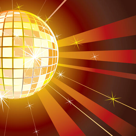 Disco background vector  Stock Vector - 7649810