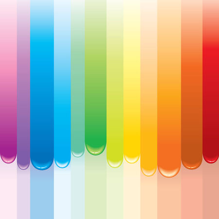 Stylized Rainbow painted background-(  only gradients used) Stock Vector - 7684635
