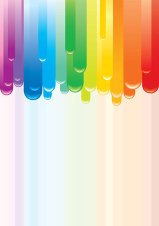 drip: Colorful   rainbow background Illustration