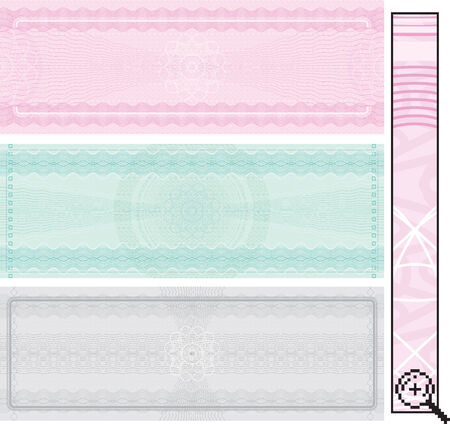 Certificate template - without gradients ,easy editable  Vector