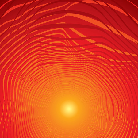 Hot background Vector