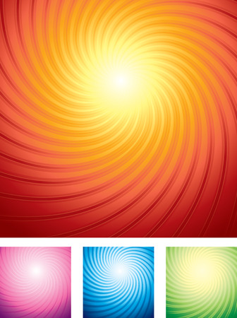 hot pink:  special sunburst backgrounds set