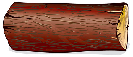 tronco: registro  madera