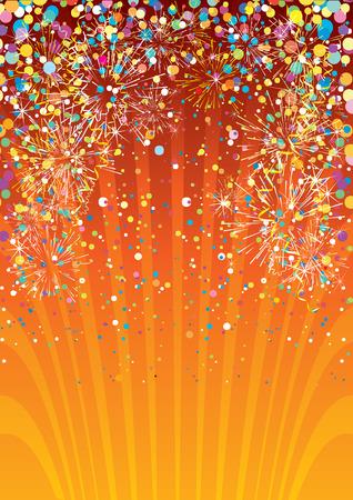 parade confetti: Fondo festiva