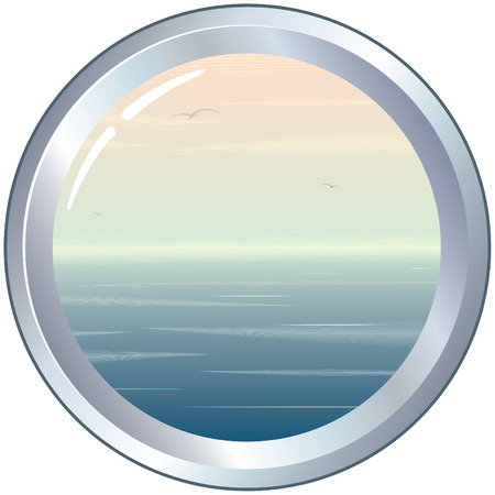 illuminator:   Porthole with seascape
