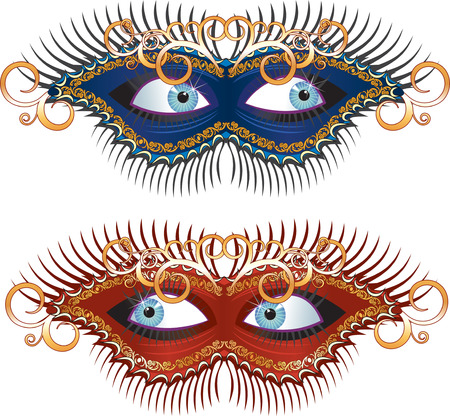 Carnival Mask (carnaval series clip art)  Vector
