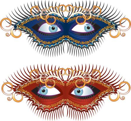 mardi gras mask: Carnival Mask (carnaval series clip art)