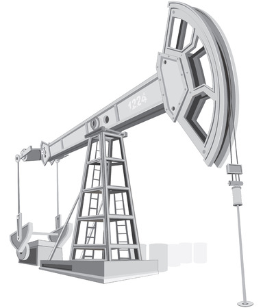 oilfield: Pumpjack-industrial series