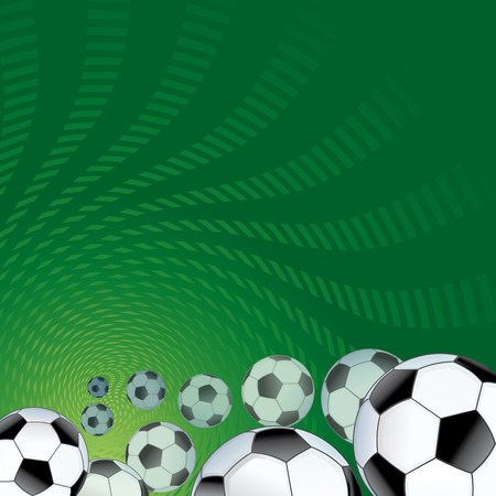 Soccer abstract background for design Vector