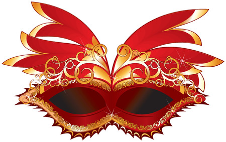 masque:   carnival mask