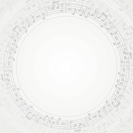 music round frame- background Vector