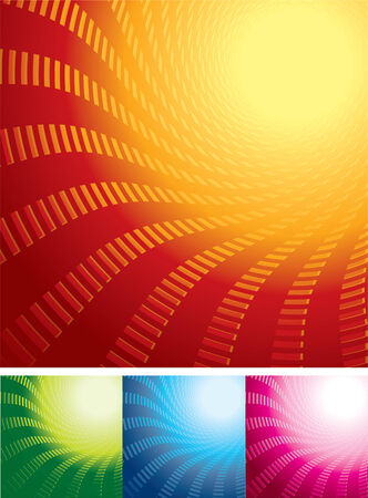 luminescence: Abstract backgrounds set