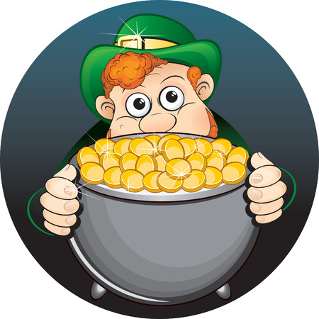 St Patrick's Day vector clip art Stock Vector - 7739501