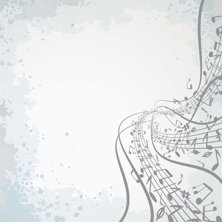 抽象的な音楽テーマ