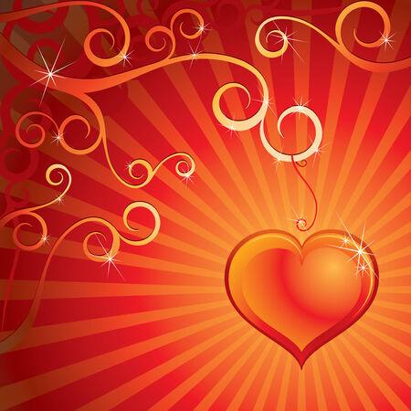 Love design background Stock Vector - 7739497