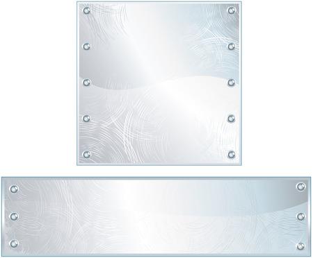 haltbarkeit: Poliertes Metall-Schilder - Zeichen