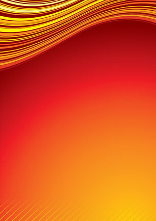 Heat Background.  To see more - please visit at my gallery. Vector
