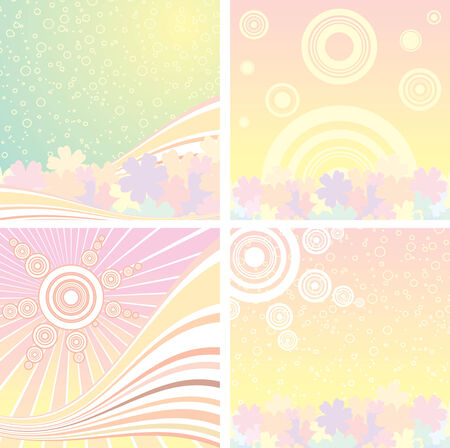 brightly backgrounds   Vector