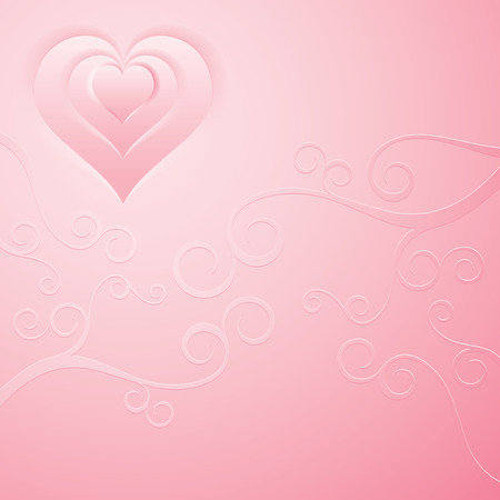 Smooth pink background   Vector