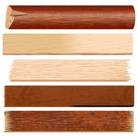 Registros de planchas, tableros, madera, colección de paneles de madera