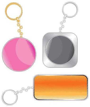 key ring: Trinkets with place for your design