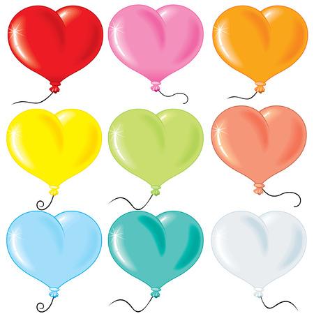 palloncino cuore: Collezione gonfiati bolle a forma di cuore