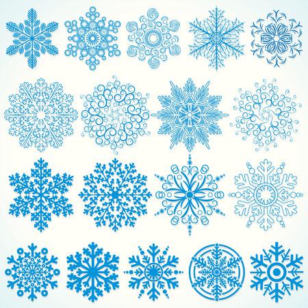snowflake icon: Design Snowflakes Illustration